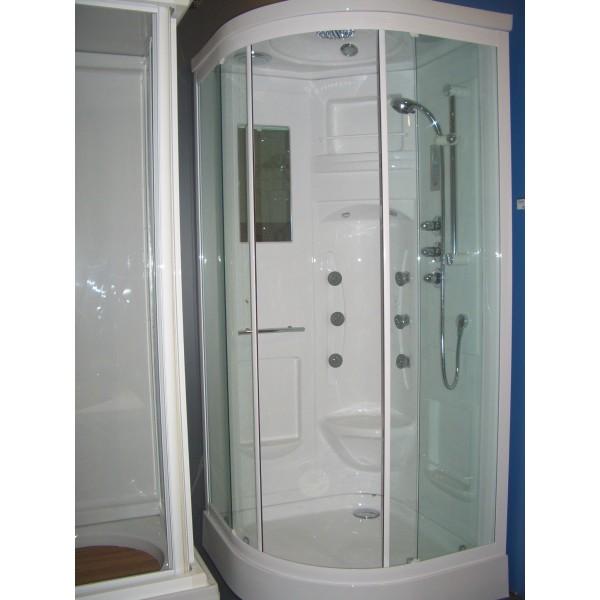 Cabina hidromasaje marmara digital 90x90 fs enz - Cabina ducha rectangular ...